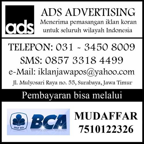 iklan surya display agenda