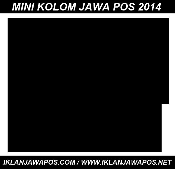 Iklan Jitu Mini Kolom Jawa Pos