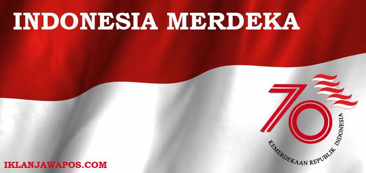 indonesia merdeka 70 tahun